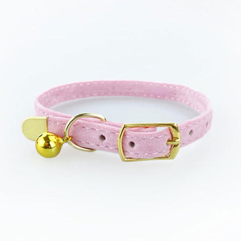 Adjustable Flocking Cat Collar