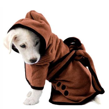Cute Dog Bathrobe