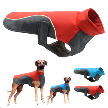 Warm Cozy Dog Jacket For Small Medium & Large Dogs