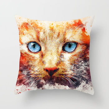 Cute Pets Cushion Cover