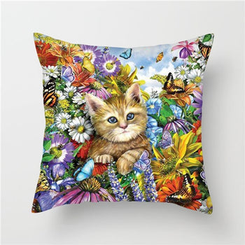 Animals Painting Cushion Covers
