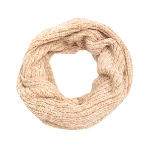 Super Soft Solid Chenille Infinity Scarf, Cowl Neck, Endless Loop, delicate, warm, on trend & fabulous, deluxe addition to any cold-weather ensemble. Wraparound, loops around neck, great for daily wear in the cold, protects you against chill, classic glamour, plush fabric, feels amazing snuggled up against your cheeks.