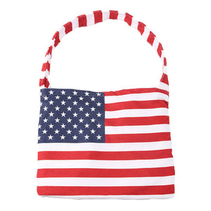 USA Flag Print Beach Towel Tote Bag Flag Towel in a Tote, enjoy summer vibes, day at the beach, pool, vacay! Toss your bathing suit, suntan lotion, water, etc when ready to go. Great Birthday, Mother's day gift, Independence Day, 4th of July, Memorial Day, Flag Day, Labor Day, Election Day, Veterans Day, President Day