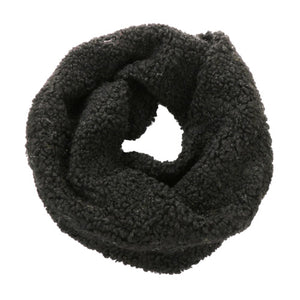 Plush Faux Fur Sherpa Infinity Scarf Warm Faux Fur Sherpa Endless Loop Scarf Faux Fur Scarf Cowl Neck delicate, warm, on trend & fabulous, deluxe addition to any cold-weather ensemble. Wraparound, loops around neck, great for daily wear. Perfect Gift Birthday, Christmas, Anniversary, Holiday, Valentine's Day, Loved One