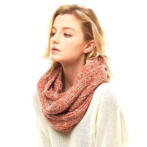 Soft Solid Chenille Infinity Scarf Cowl Neck Scarf Endless Loop Scarf, Endless Loop delicate, warm, on trend & fabulous, deluxe addition to any cold-weather ensemble. Wraparound, loops around neck, great for daily wear, protects you against chill, plush fabric, feels amazing snuggled up against your cheeks. Ideal Gift