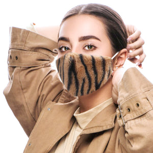 Zebra Pattern Faux Fur Fashion Mask Zebra Faux Fur Mask Warm Face Masks as the weather drops we need to be warm & protected, Zebra Faux Fur Pattern keeps us toasty. Chic & trendy so you can look good while wearing them. Perfect Gift Birthday, Christmas, Anniversary, Valentines Day, New Years Eve, Loved One, Fashionista