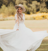 Western Wedding Dress Dreams Come True