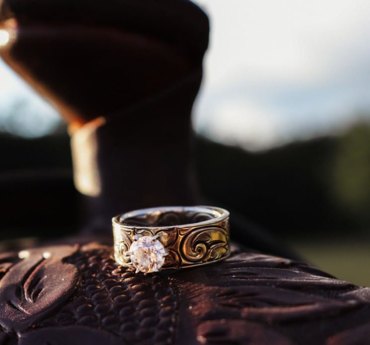 Engagement Rings for Cowgirls