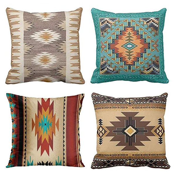 Throw pillow set