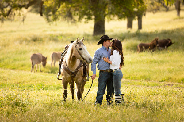 Western engagement photo