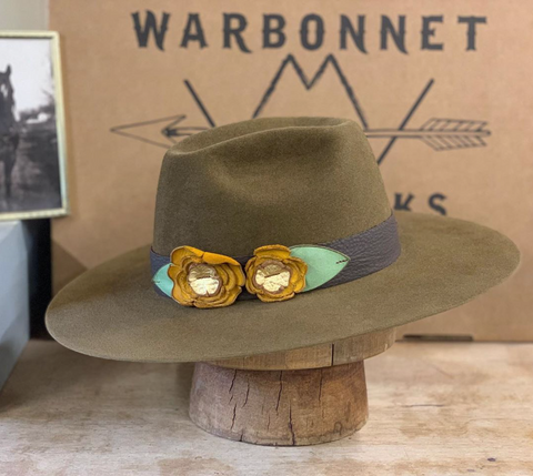 Photo via Warbonnet Hat Works