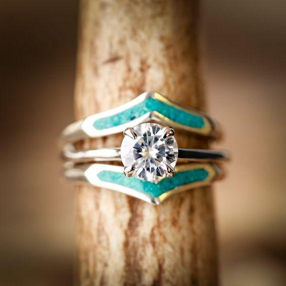 Western engagement rings