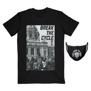 Break the Cycle Tee and Mask Bundle