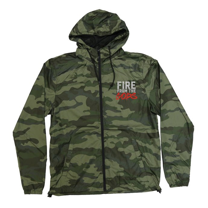 Survivor Camo Windbreaker