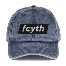 Load image into Gallery viewer, FCYTH Vintage Cotton Twill Cap