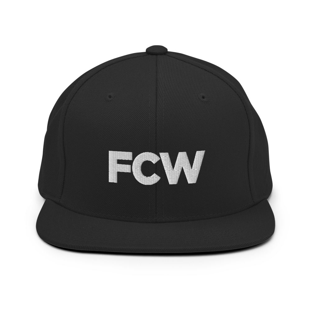 FCW White Logo Hat