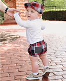 Red, White & Black Plaid Bloomers