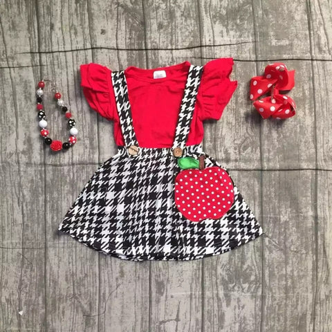 Apple skirt set