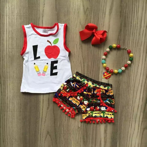 Love School short set