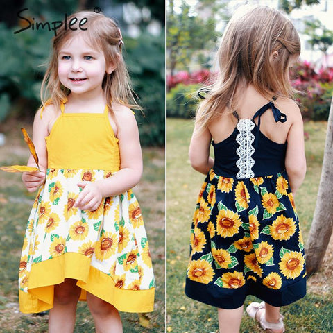 Sun Flower baby girls summer