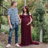 Long Maxi Maternity Dress