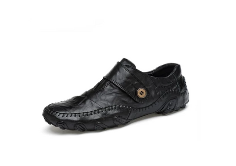 Fashion British Style Men Causal Shoes Genuine Leather - vajshoping
