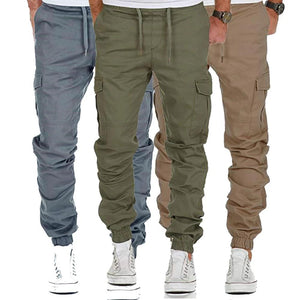 New Men Many Pockets Cargo Pants