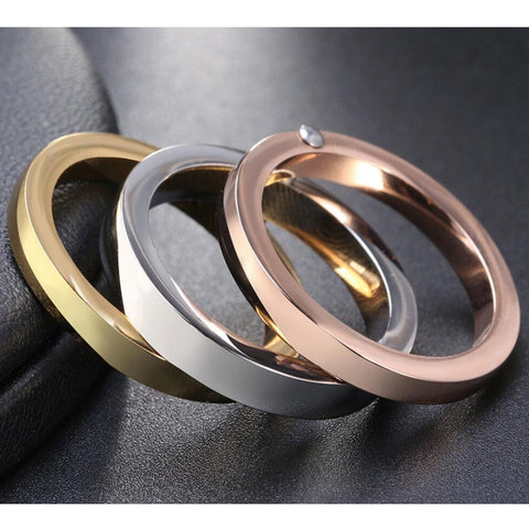 High Quality 3 Pieces/Set Rose Gold/Silver