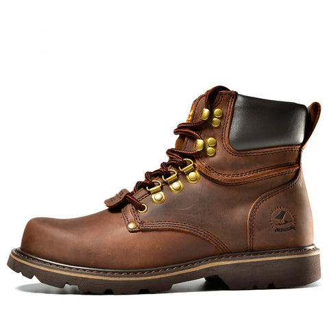 Martin Leather Winter Boots - vajshoping