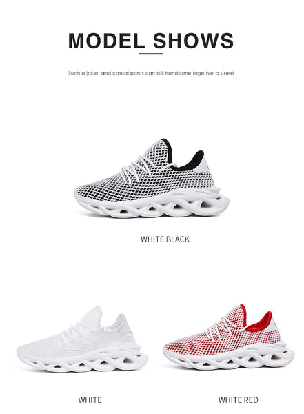 Men sneakers training lightweight breathable comfortable fashion - vajshoping