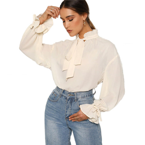 Elegant Office Style Blouse - vajshoping