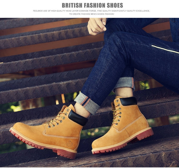 Mens Winter Waterproof Boots - vajshoping