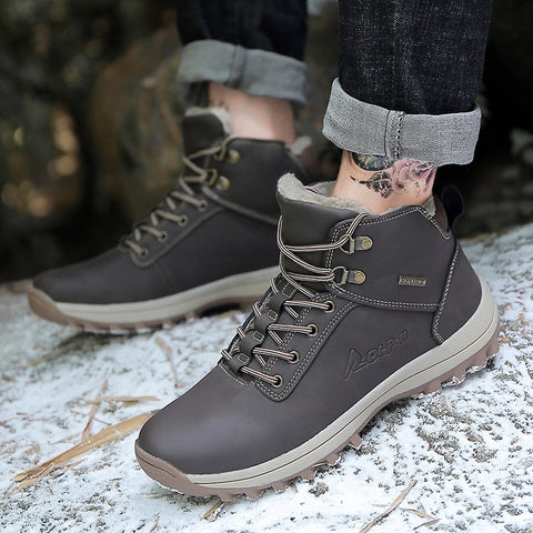 Men Winter Boots Warm High Quality Fashion - vajshoping