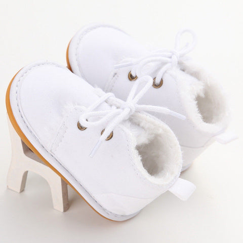 New Casual Newborn Infant Girl Boy Baby Snow Booties - vajshoping