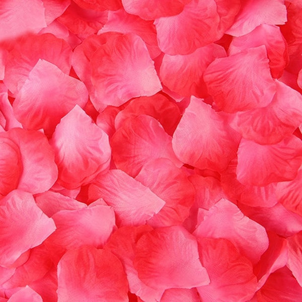 2000 Pcs Artificial Rose Petals Wedding Petalas Colorful Silk Flower Accessories - vajshoping