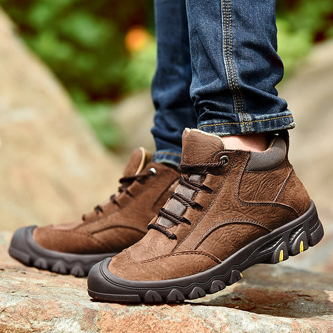 Waterproof Outdoor Winter Boots - vajshoping