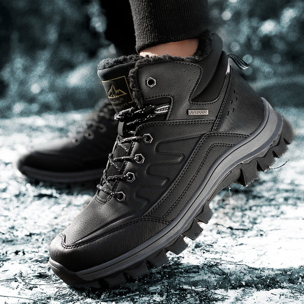 Winter High-Rise Boots With Anti-Slip Soles