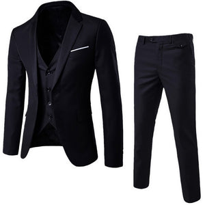 Spring Autumn Thin Section High-end Business Suit