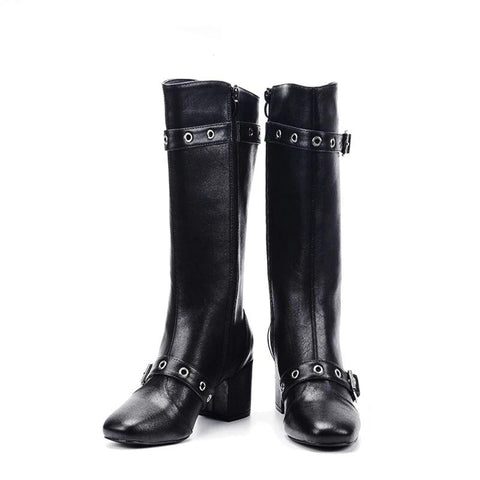 Fashion Warm Winter Mid-Calf Boots - vajshoping