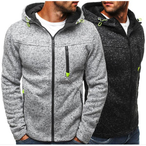 Men Sweatshirt Zipper Fashion Hoodie Hip Hop