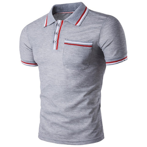 Short Sleeve Men Polo Shirt
