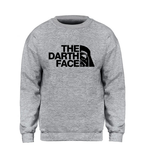 Hip Hop The Darth Face Sweatshirt Men - vajshoping