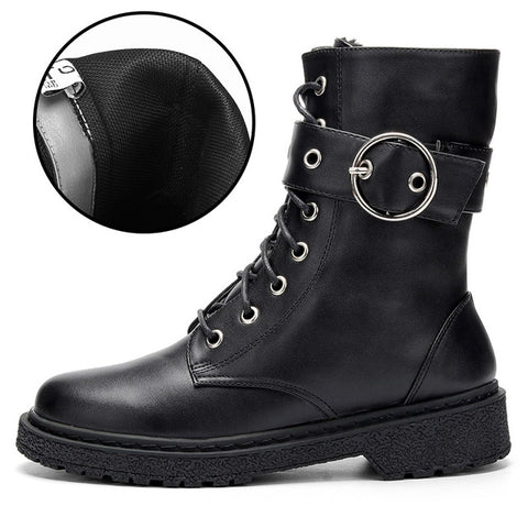 New Fashion Warm Plush Winter Women Ankle Boots