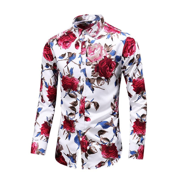 Hawaiian Floral Shirt - vajshoping