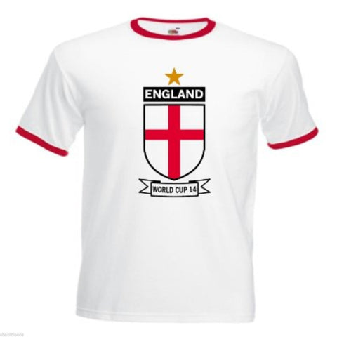 Men Summer T-Shirt England Football - vajshoping