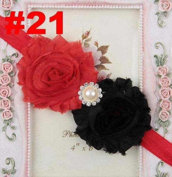Baby girl headband Infant hair accessories Flower - vajshoping