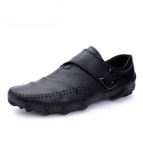 Fashion Roman Style Men Causal Shoes Genuine Leather - vajshoping