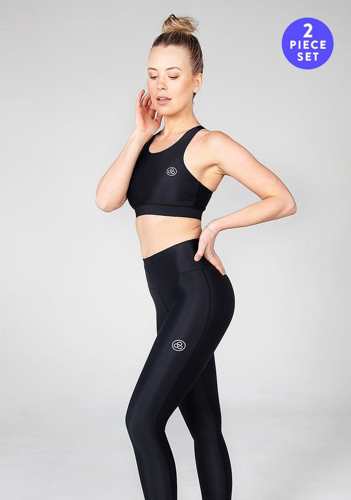 GoGo Gloria Full Length Leggings & Crop Set