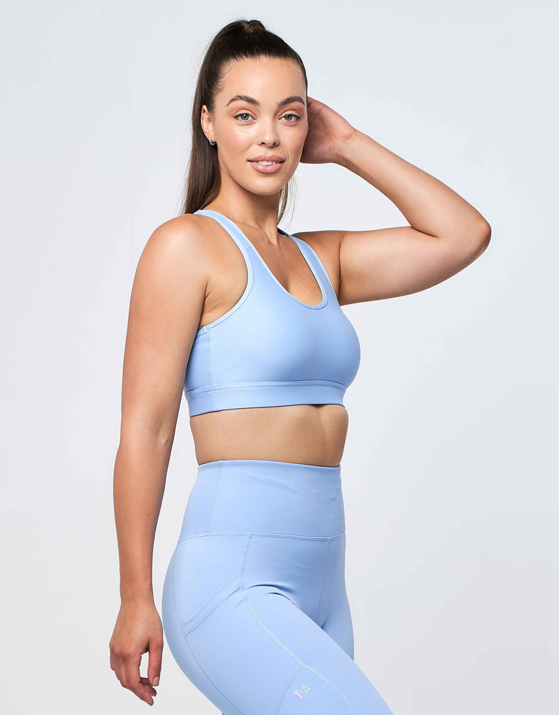 Eva Crop - Sky Blue