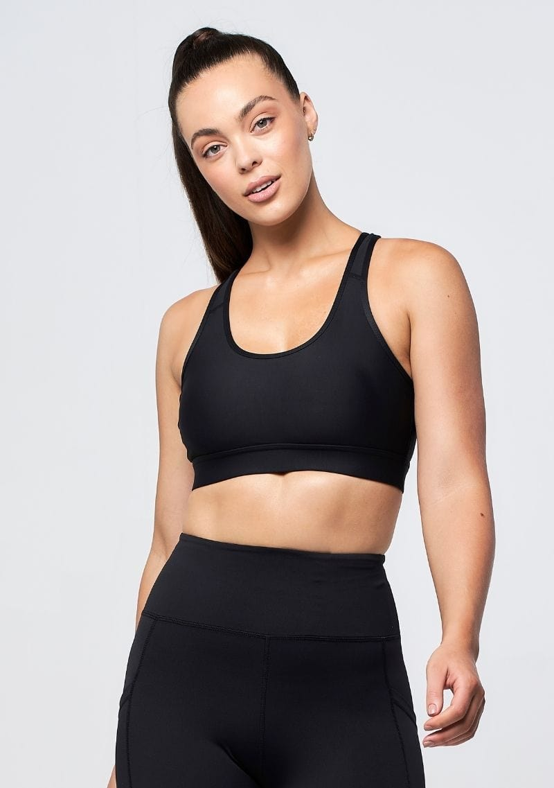 Eva Crop - Black